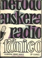 METODO De EUSKERA RADIOFONICO 2e Curso (pour Apprendre Le Basque) - Livres, BD, Revues