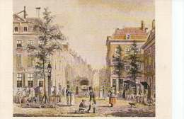 B. J. VAN HOVE  GEZICH IN DE HOOGSTRAAT   OHL - Peintures & Tableaux