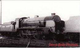 Railway Photo SR King Arthur 30790 Sir Villiars EASTLEIGH 1948 Southern 4-6-0 Loco - Trains