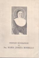 PERFILES BIOGRAFICOS DE SANTA MARIA JOSEFA ROSSELLO AÑO 1950 56 PAGINAS CON FOTOS - Religion & Occult Sciences