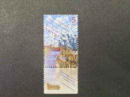 ISRAEL 1997 ILLEGAL IMMIGRATION EXODUS 1934 1948  MINT TAB  STAMP - Israel
