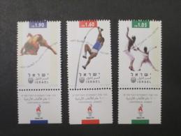 ISRAEL 1996 ATLANTA OLYMPIC GAMES MINT TAB  STAMPS - Israel