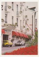 EPINAL - CPM - HOTEL CENTRAL ** ET RESTAURANT DU MOUTON BLANC *** - Tel (29) 35 18 68 - - Epinal