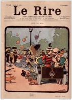 REVUE LE RIRE - JUILLET 1899 -  N° 246 - LUNE DE MIEL - ANGLAIS A PARIS - ILLUSTREE PAR RABIER , COUTURIER - Livres, BD, Revues