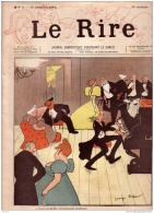 REVUE LE RIRE - NOVEMBRE 1894 - LE N° 8 !! - ILLUSTREE PAR DELAW , JOSSOT - LEANDRE - Livres, BD, Revues