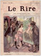 REVUE LE RIRE - MAI 1895 - N° 26 - SALON DE PEINTURE - COUP DE MAIN - ILLUSTREE PAR RADIGUET , VALLOTON - Livres, BD, Revues