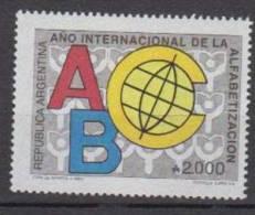 ARGENTINE    1990       N°  1724                        COTE    1.20   EUROS       ( A 42 ) - Argentine