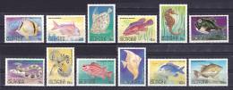 Guinea - 1980 - ( Fish - Fishes ) - Complete Set - MNH (**) - Guinea (1958-...)