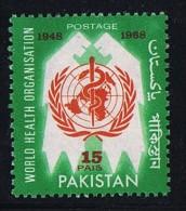 1968  Variety - Error  20th Anniversary WHO   « PAIS» For «PAISA»  SG 258 A - Pakistan