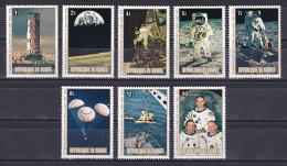 Guinea 1980 ( Apollo 11 Moon Landing, 10th Anniv. ) - Complete Set - MNH (**) - Guinea (1958-...)
