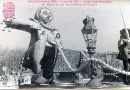Carte Photo - AIX-EN-PROVENCE  1952 Canaval LII - Corso Carnavalesque : La Reine Et Ses Demoiselles D'honneur - Aix En Provence