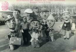 Carte Photo - AIX-EN-PROVENCE  1952 Canaval LII - Corso Carnavalesque : Touristes Suivez Le Guide - Aix En Provence