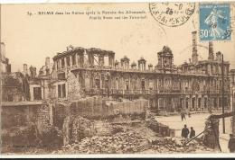 REIMS - Dans Les Ruines Apres La Retraite Des Allemands  69 - Reims