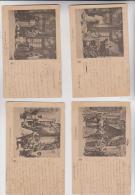 5 CPA THEATRE, CENDRILLON En 1902 !!! - Theatre