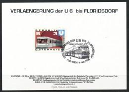 Österreich - Sonderstempel - U6    1996 Auf Sammelkarte - Frankiert Mit Mi.Nr.: 1567 - Affrancature Meccaniche Rosse (EMA)