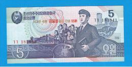 COREA DEL NORTE - 5 Won 1998 SC  P-40 SPECIMEN ??? - Corea Del Norte