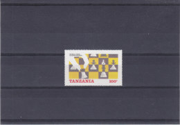 Jeux - échecs - Tanzanie - Yvert 276 ** - MNH - Chess