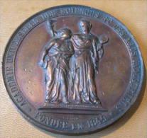 """Médaille Bronze De P. Fisch   """"réf2013A"""" - Belgique"""
