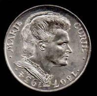 """SUPERBE---PIECE 100 FRANCS ARGENT 1984 """"Marie-Curie""""---ETAT : SUP// SPL - France"""