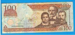 DOMINICANA -  100 Pesos 2003 SC  P-171 - República Dominicana