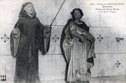 29 - Pointe De ST MATHIEU - Statues De Ste Haude Et St Tanguy (PLES) - France