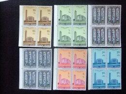 RUANDA  - URUNDI   1961 CATEDRAL    USUMBURA  - Yvert & Tellier Nº 225 / 230 ** MNH - Ruanda-Urundi