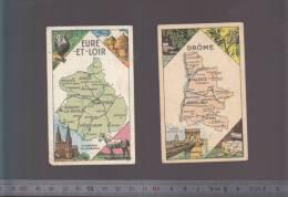 Image Medicament Vermifuge - Bonbons Berger - Lot De 2 Départements Drome + Eure Et Loire - Documentos Antiguos