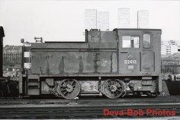 Railway Photo BR Class 06 D2413 EASTFIELD 1972 Diesel Shunter Loco - Trains
