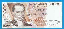 ECUADOR - 10.000 Sucres  1995 SC  P-127 - Ecuador