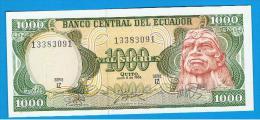 ECUADOR - 1.000 Sucres  1988 SC  P-125 - Ecuador