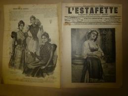 1897 L´ESTAFETTE :Le Dompteur Pezon Et La-Butte-aux-Cailles; Banquet Géant;Chemin De Fer; BAYONNE; Le Chêne De QUILLACQ - Newspapers