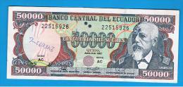 ECUADOR - 50.000 Sucres  1997  P-130 - Ecuador