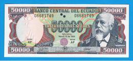 ECUADOR - 50.000 Sucres  1999 SC  P-130 - Ecuador