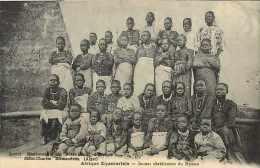 Juin13 847 : Afrique équatoriale  -  Jeunes Chrétiennes Du Nyassa  -  Missions St-Charles Birmandreis - Gambie
