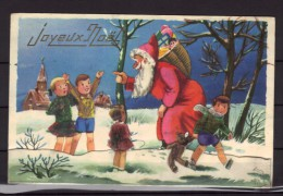 Carte Postale Fantaisie - Père Noël - Navidad