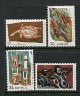 Australia Scott #504-7 Mint Hinged - 1966-79 Elizabeth II