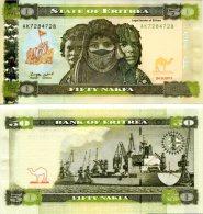 ERITREA 50 Nakfa 2011 **UNC** - Erythrée