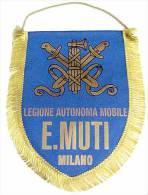 Banderín Legione Autonoma Mobile E. Muti. Milano. Italia Fascista. 2ª Guerra Mundial. 1939-1945. - Banderas