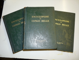 ENCYCLOPEDIE DU CONGO BELGE  EDITIONS BIELEVELD BRUXELLES TOME 1 , 2 , 3 - Encyclopaedia