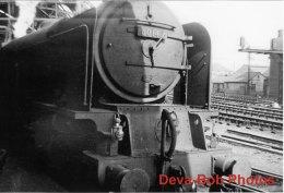 Railway Photo LNER A1 60142 Edward Fletcher NEWCASTLE 1960 Pacific Loco - Trains