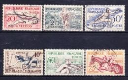 FRANCE  1953    YT  960 A 965   TB - Francia