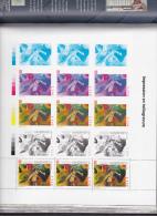 LIVRE 196 PAGES Avec RARE BLOC GOMME KANDINSKY - YVERT N°3585 ** - VENDU 60 EUROS En 2004 - Blocs & Feuillets