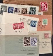 T0005 BELGIUM, 35 @ 1950s Covers - Belgium