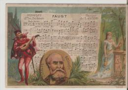 Buscs A L'Ancre. Paris. Faust.Gounod. - Chromos