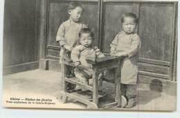 CHINE MISSION DES JÉSUITES  -  Trois Orphelines De La Sainte Enfance. - China