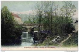 77-Villeneuve-sur-Bellot-     Bords Du Petit Morin-(Bateau-Lavoir) Couleur - France