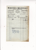 MARIUS MUTELET Anc Librairie Sidot Librairie Papeterie METZ 1963 - Frankreich