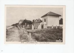 CPA : 85 - Vendée : Ile De Noirmoutier - Vers Le Blanc Moutier : Villas , Chemin , Mer à Gauche ... - Ile De Noirmoutier