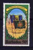 Barbados - 1980 - 50c Barbados Regiment (Watermark Inverted) - Used - Barbades (1966-...)