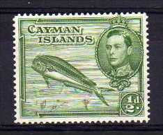 Cayman Islands - 1943 - ½d Definitive (Perf 14) - MH - Iles Caïmans